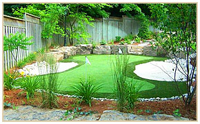 Synthetic Golf Greens